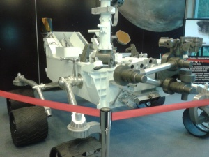 Replica of Mars Rover at JPL