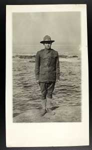 Army Private Frank E. Denham